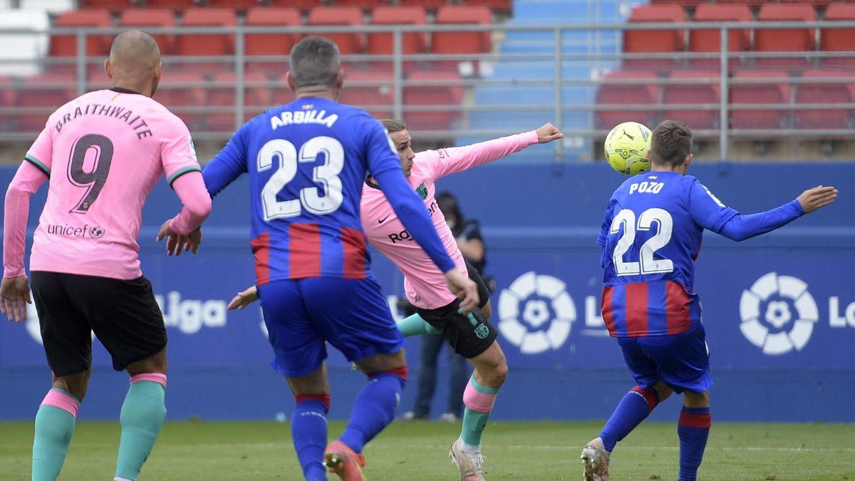 Football News Antoine Griezmann Strike Secures Third Place For Barcelona In La Liga Chase Eurosport