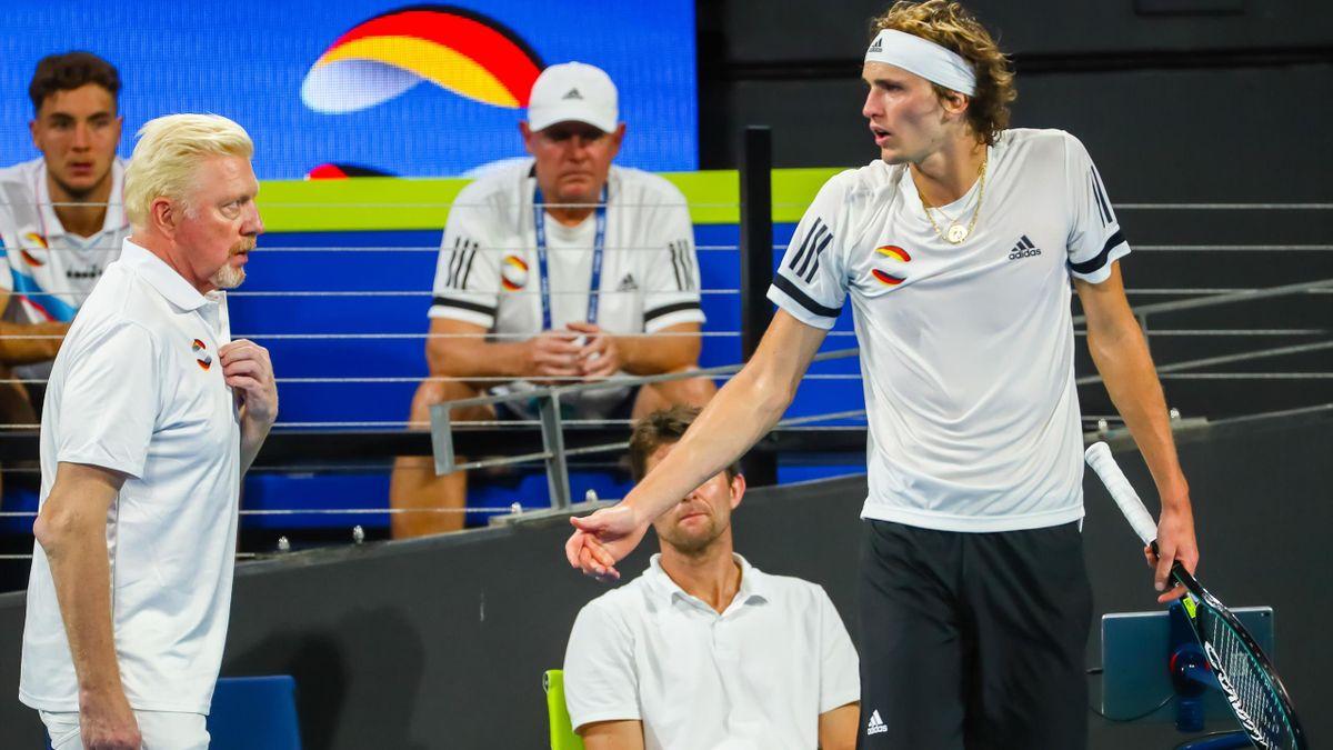 Alexander Zverev reagiert auf die Kritik von Boris Becker