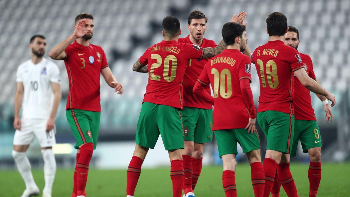 Le Portugal s'est imposé devant l'Azerbaïdjan