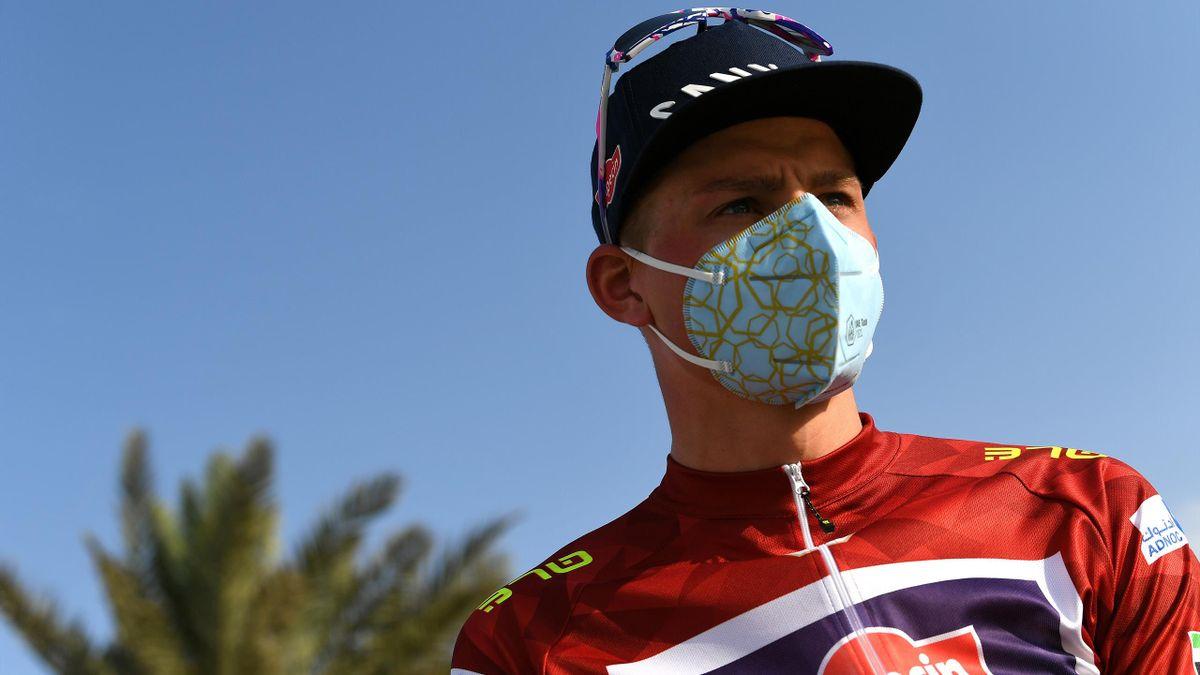 Mathieu van der Poel sur l'UAE Tour.