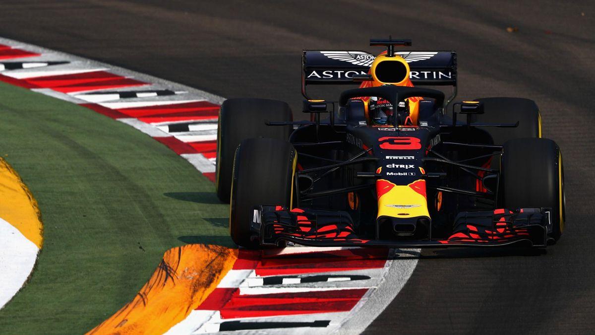 Daniel Ricciardo (Red Bull) - GP of Singapore 2018