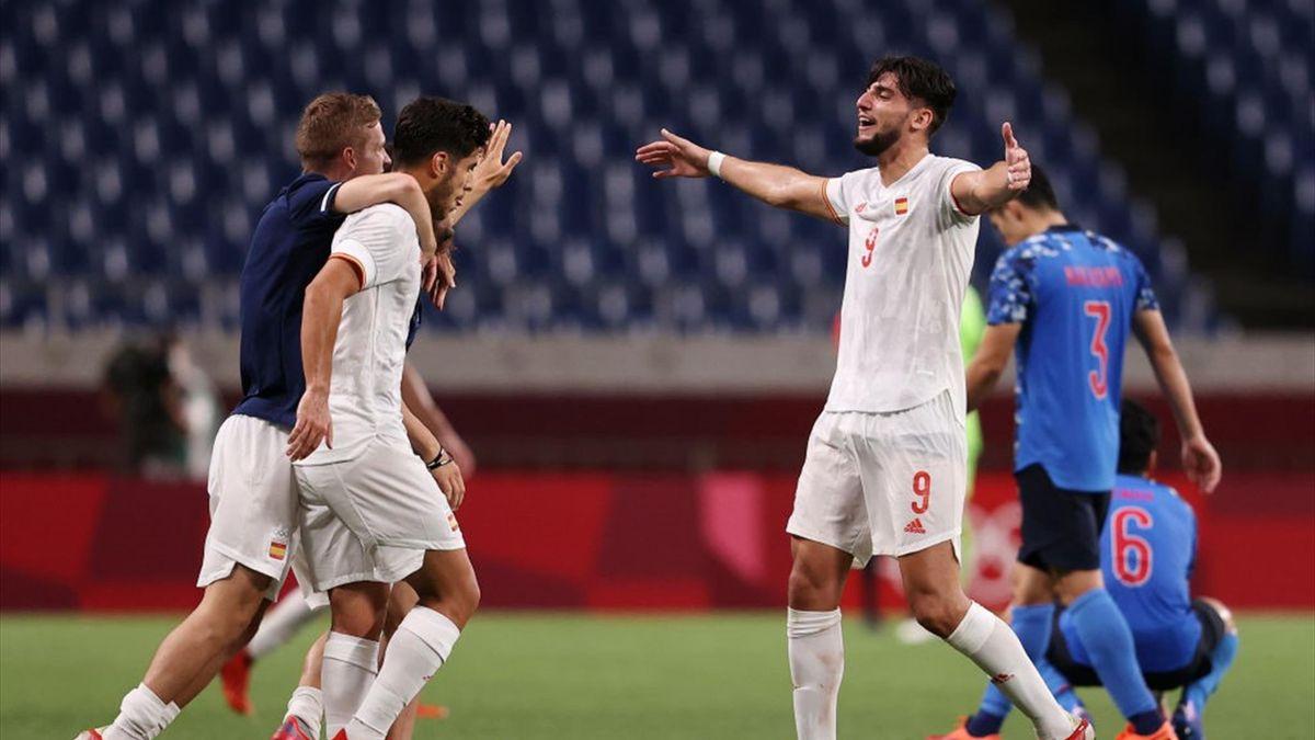 Fútbol (H) | Semifinales, Japón-España: 'Asensiazo' y a por el oro ante Brasil (0-1)