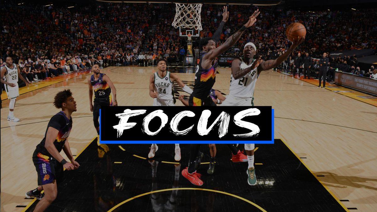 Jrue Holiday in gara 5 delle NBA Finals 2021 - Focus