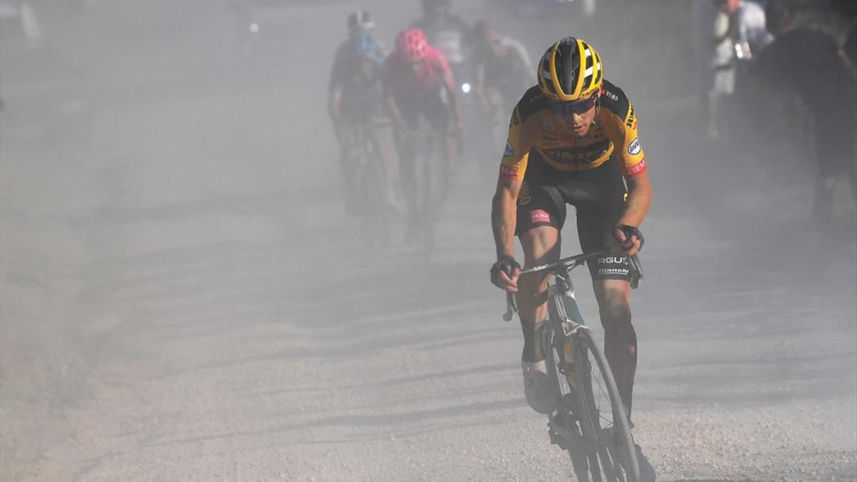 Wout van Aert - Strade Bianche 2020 - Getty Images