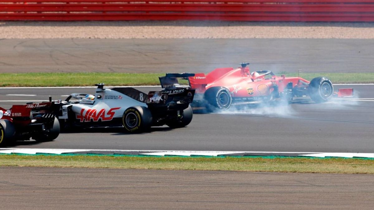 Sebastian Vettel (Ferrari) - Silverstone