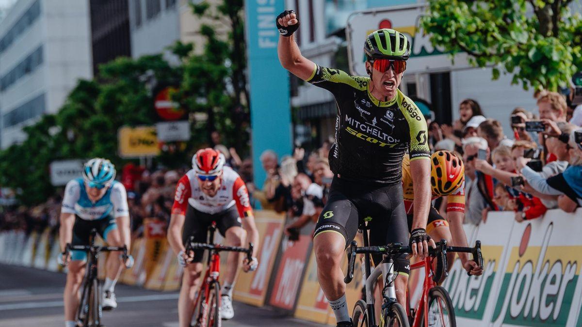 Affini clinches his maiden win / Credit: Szymon Gruchalski