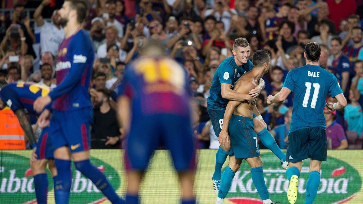Cristiano Ronaldo gegen Barcelona
