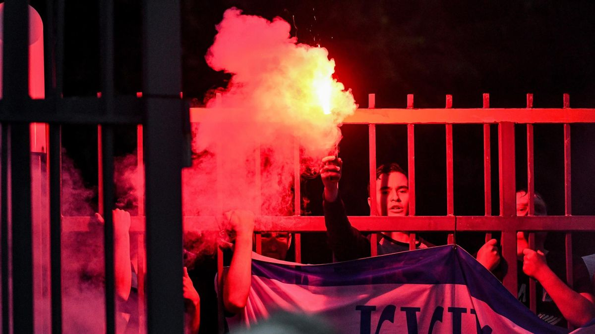 Фанаты киевского «Динамо»