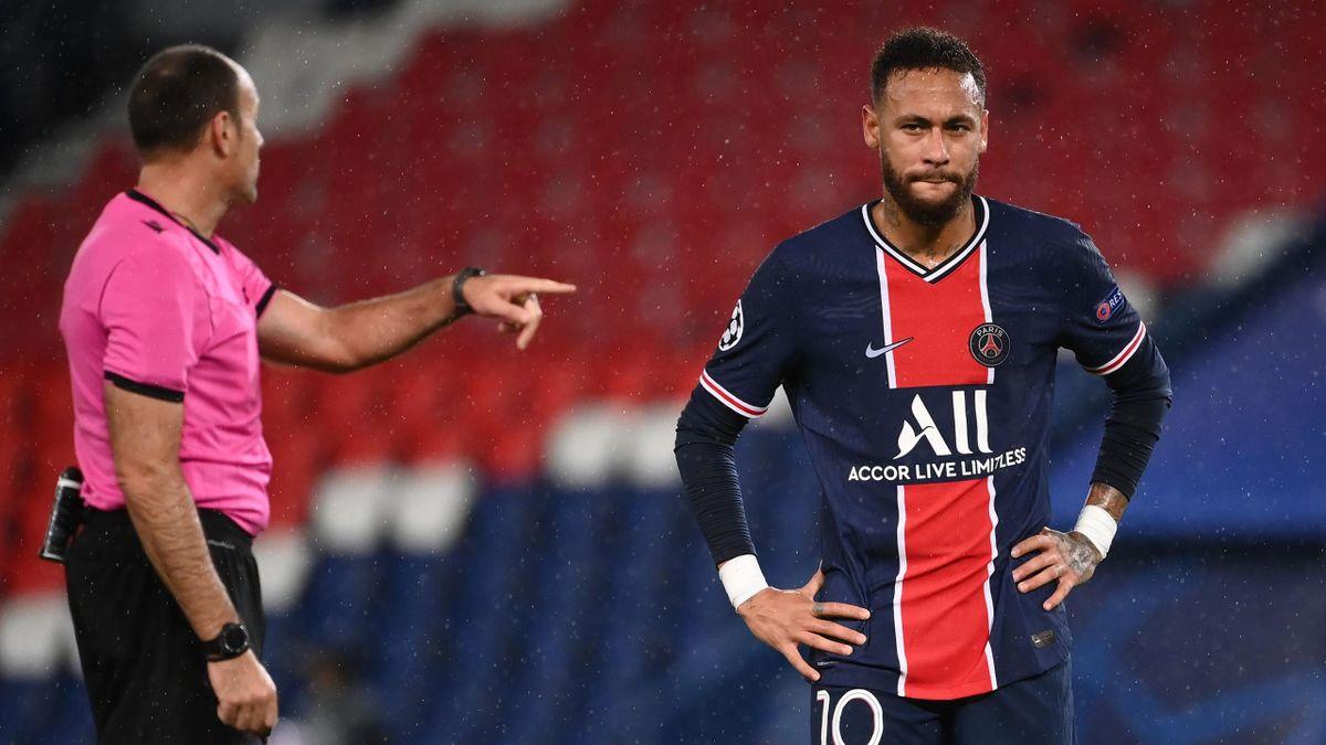 Neymar et le PSG ont subi une grosse désillusion face à Manchester United