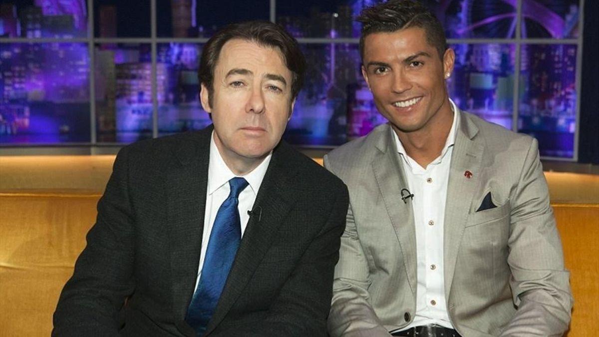 Jonathan Ross meets Cristiano Ronaldo