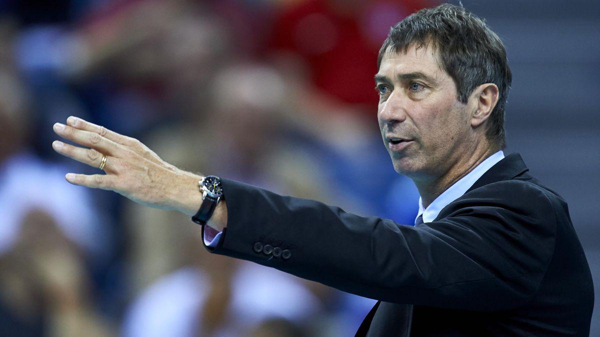Laurent Tillie, entraîneur de l'équipe de France de Volley.
