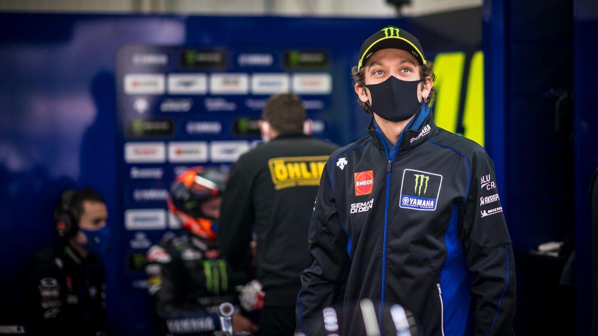 Darf in Valencia wieder aufs Motorrad steigen: Valentino Rossi