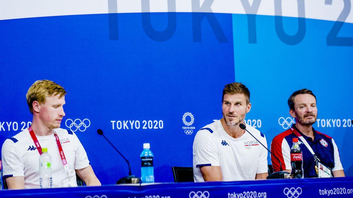 Magnus Jøndal, Bjarte Myrhol og Christian Berge