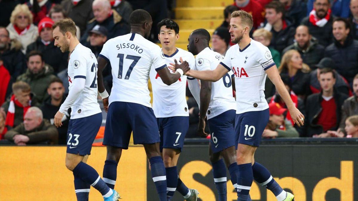 Liverpool - Tottenham. Harry Kane deschide scorul în secunda 47