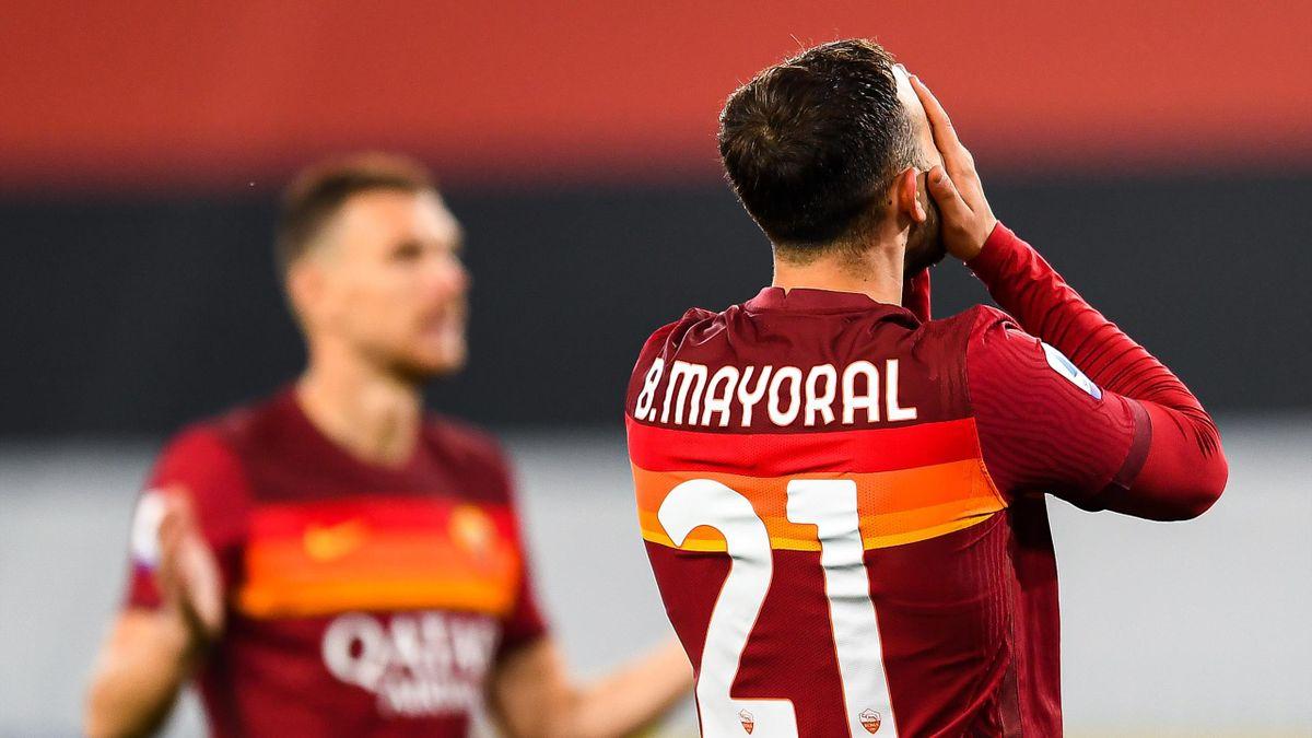Il rammarico di Borya Mayoral, Sampdoria-Roma, Getty Images