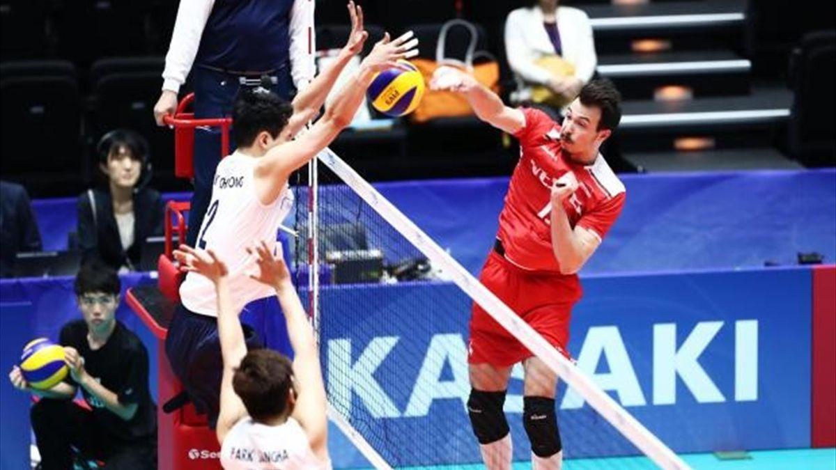 Türkiye - Güney Kore (FIVB Dünya Ligi)