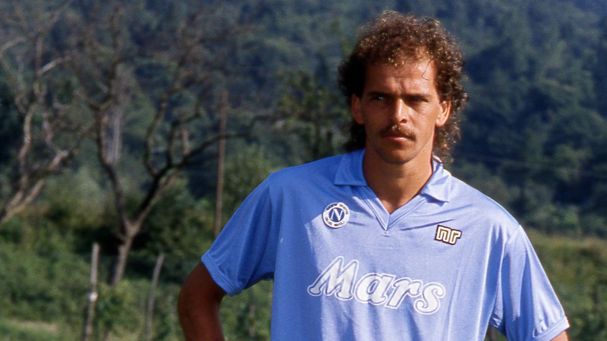 Alemao ha vestito la maglia del Napoli dal 1988 al 1992 vincendo uno scudetto e una Coppa UEFA