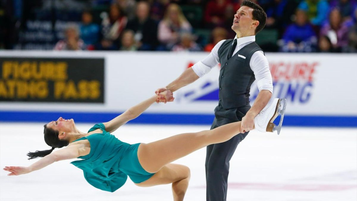 Charlene Guignard-Marco Fabbri - ISU Grand Prix of Figure Skating Skate America 2018 - Getty Images