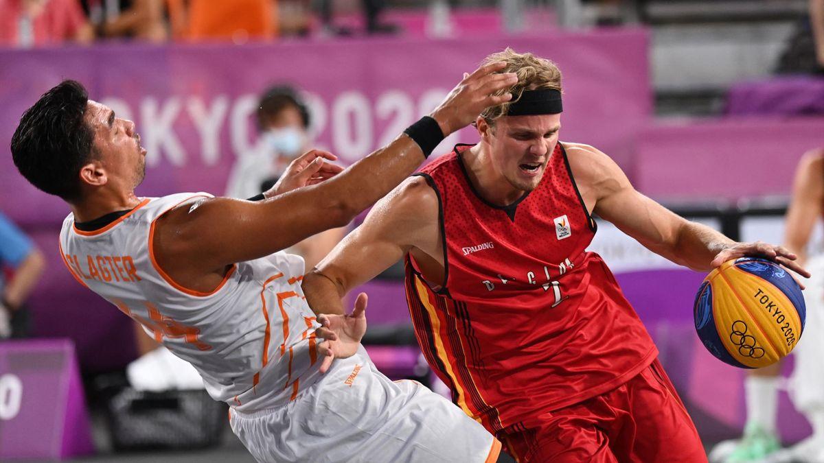 Belgische 3x3 basketbalteam op de Olympische Spelen