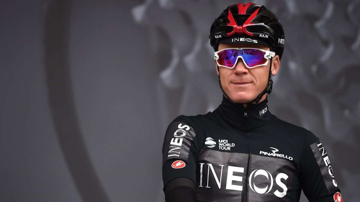 Chris Froome of Team Ineos pose