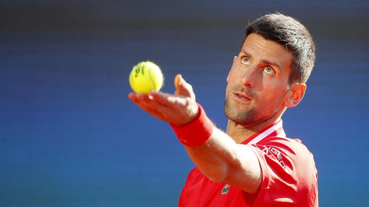 Novak Djokovic à Belgrade en 2021
