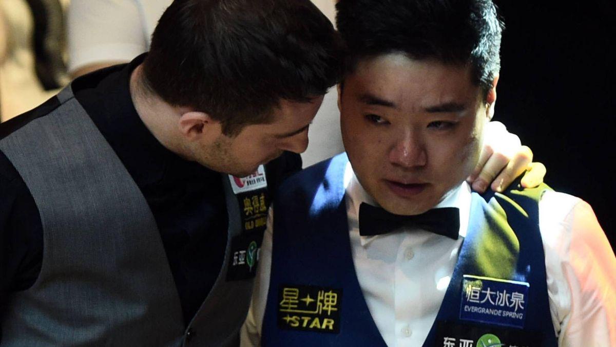 Mark Selby und Ding Junhui