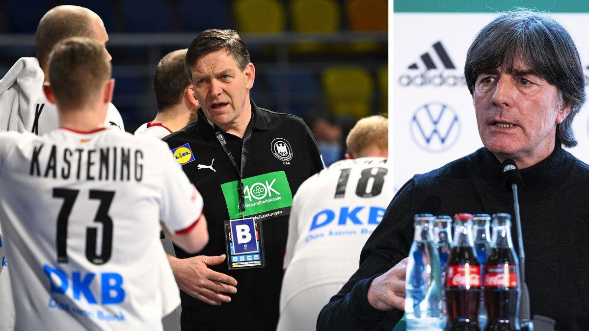 Handball-Bundestrainer Gislason bekommt Unterstützung von Fußball-Bundestrainer Löw