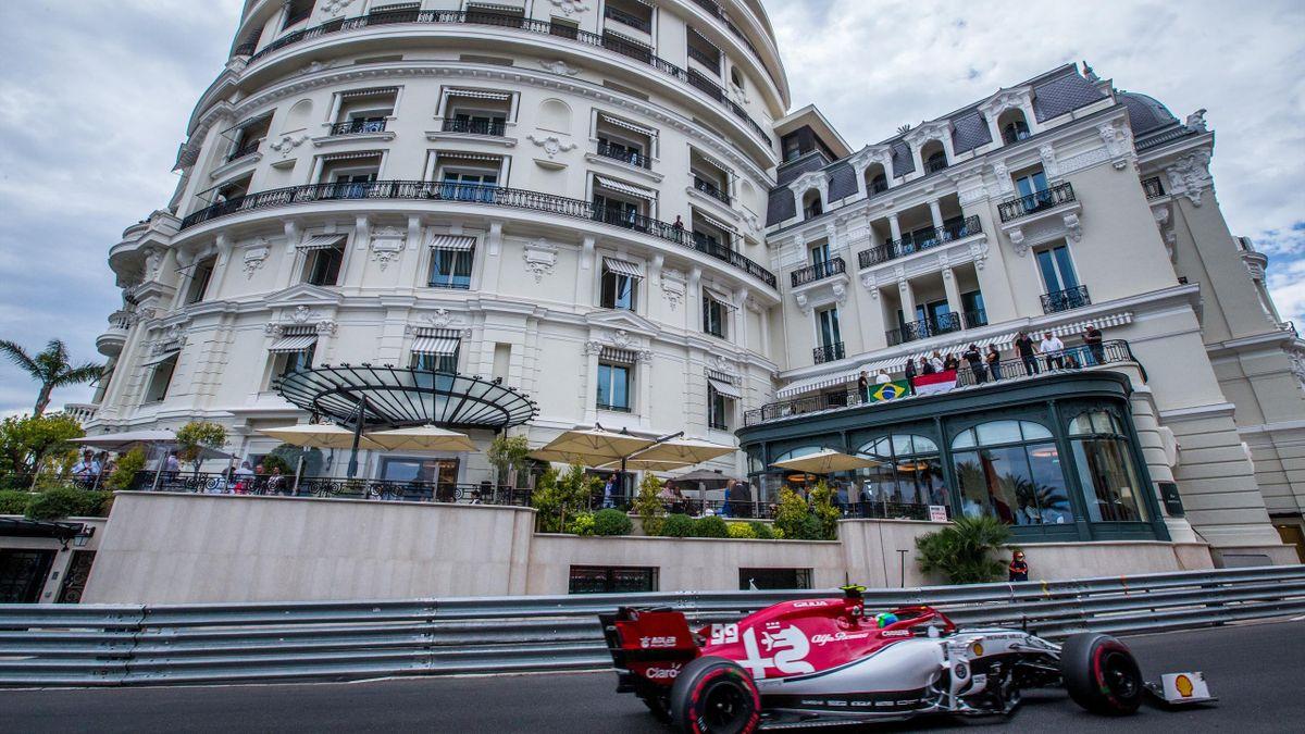 Antonio Giovinazzi (Alfa Romeo) au Grand Prix de Monaco 2019