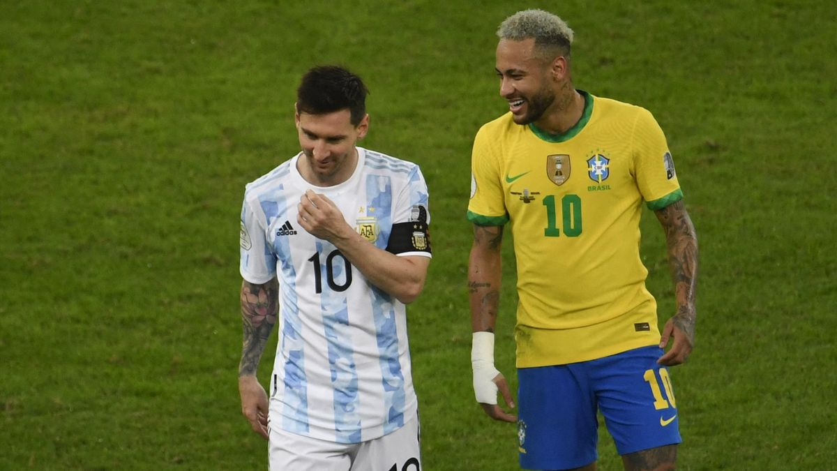 Bildeten mit Suarez eins das Offensiv-Trio in Barcelona: Neymar und Lionel Messi