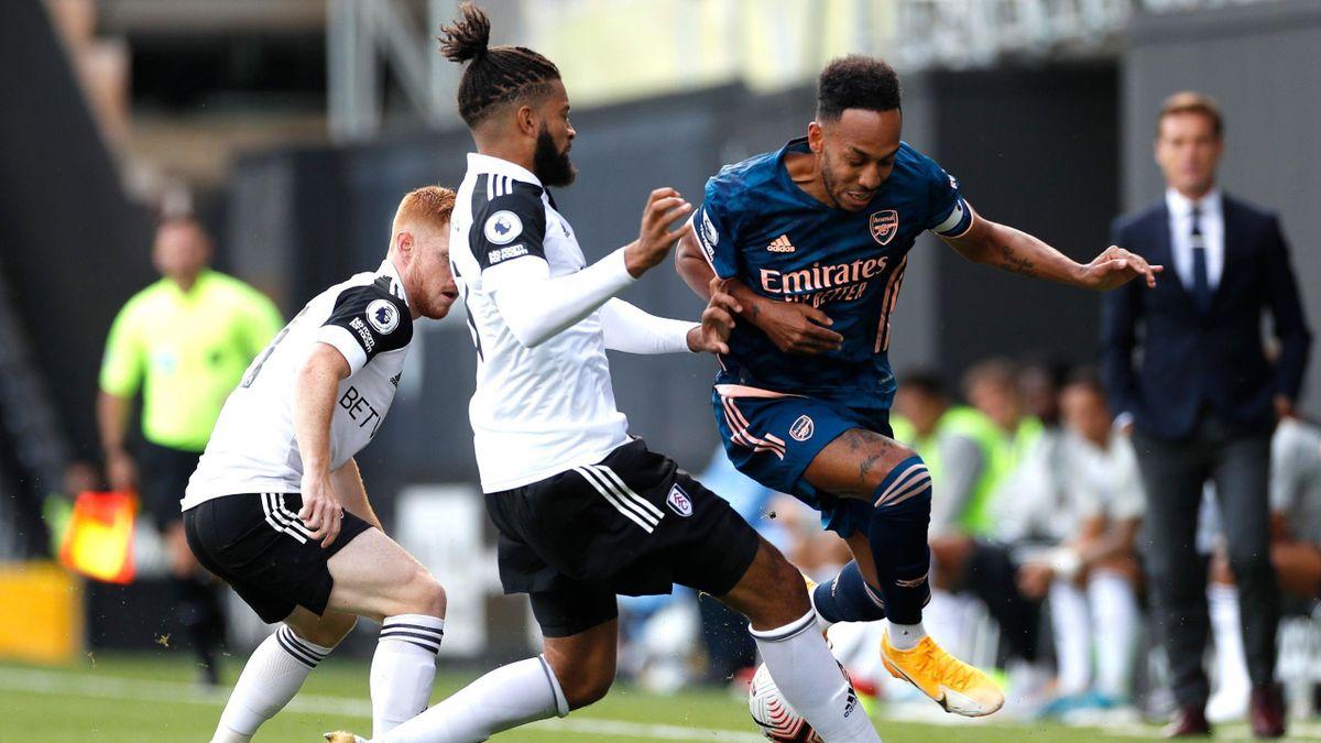 Pierre-Emerick Aubameyang (Arsenal) against Fulham - Premier League
