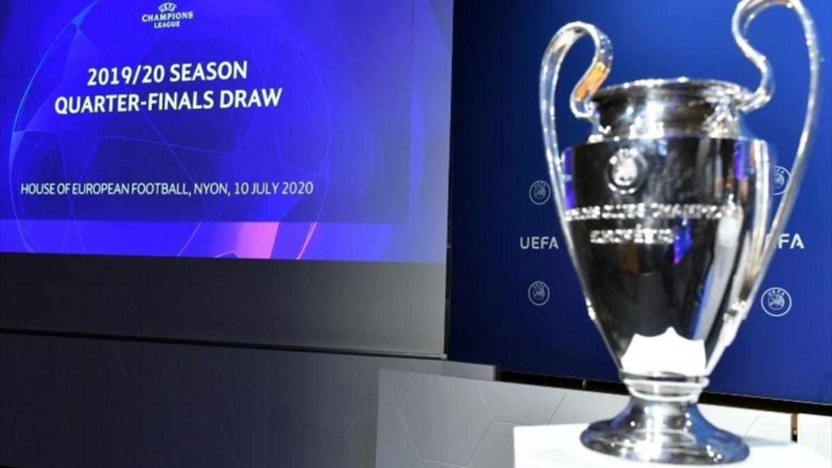 Trofeul UEFA Champions League la tragerea la sorți