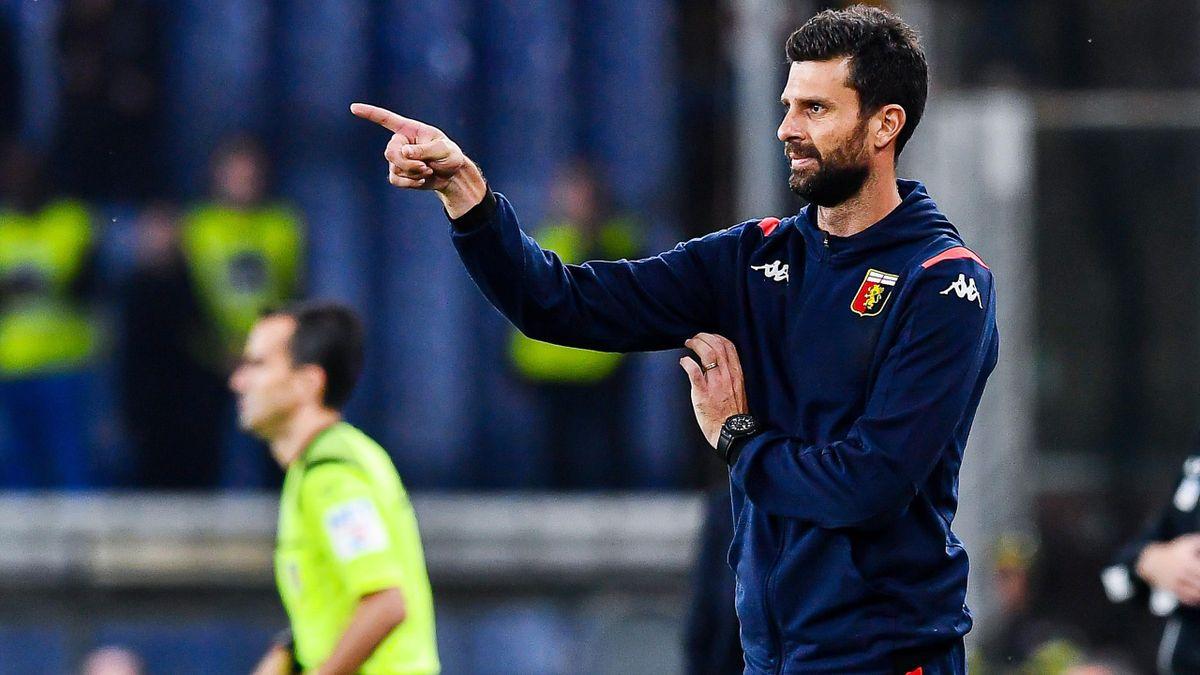 Thiago Motta alla prima sulla panchina del Genoa