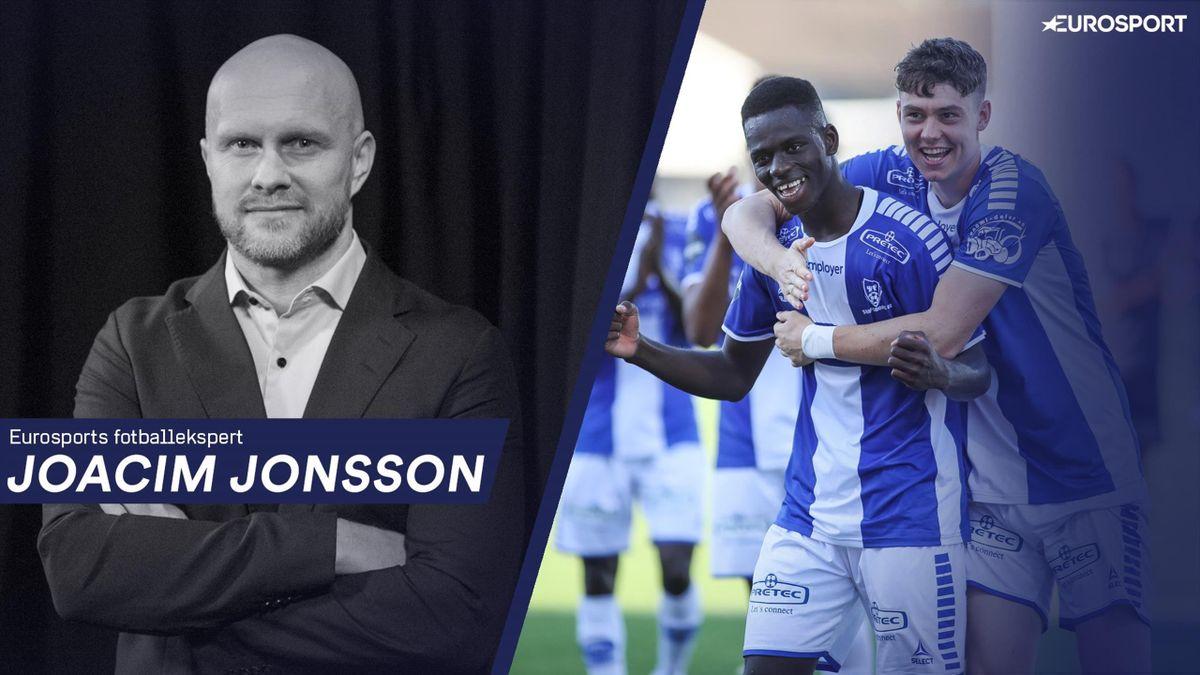 Joacim Jonsson løfter frem blant annet disse to Sarpsborg 08-spillerene