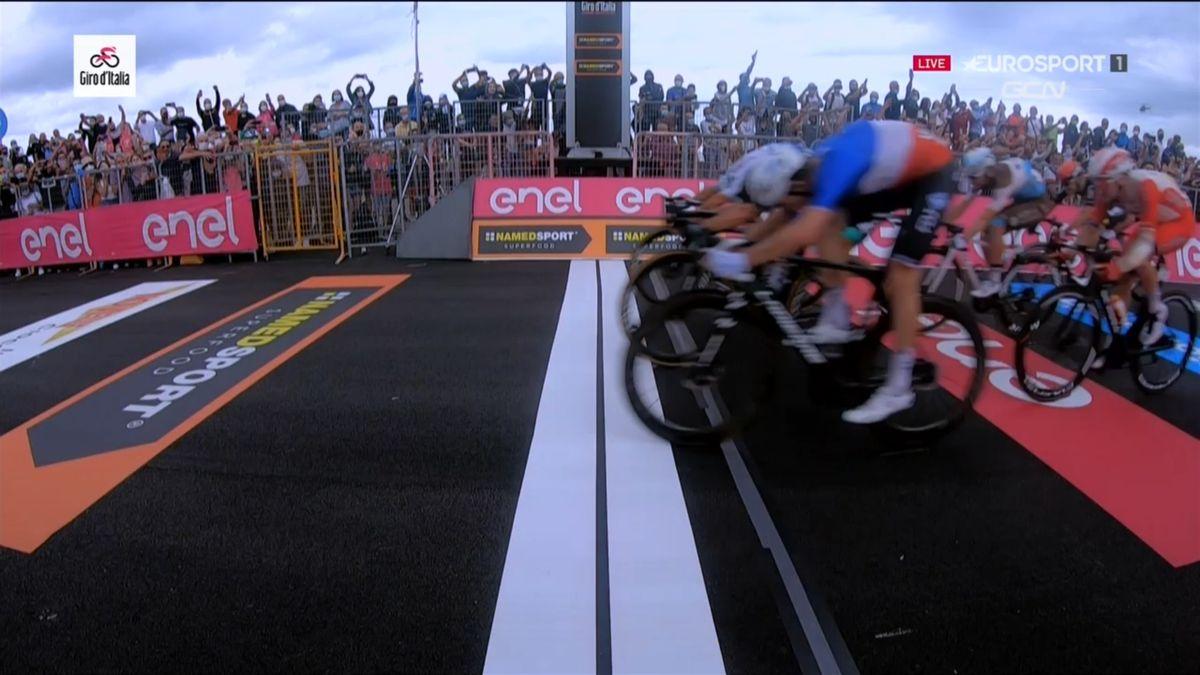 Finishfoto etappe 4