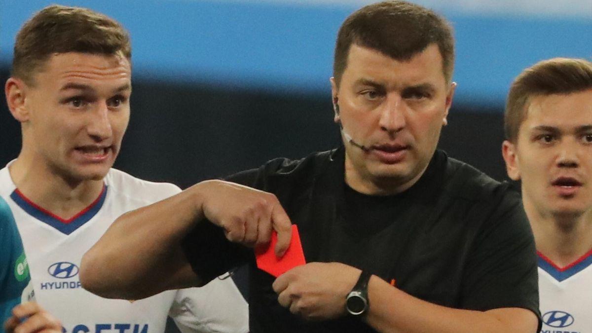 Судья Михаил Вилков, «Зенит» – ЦСКА
