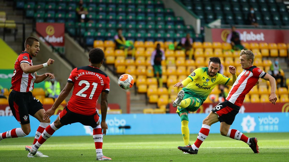 Premier League: Norwich - Southampton 0-3