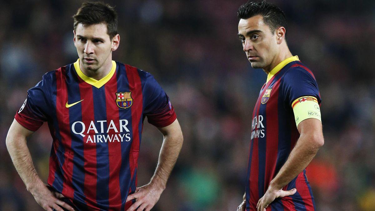 Xavi considera ca Messi este cel mai bun pe pozitia sa