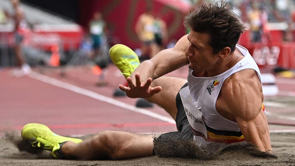 'Oh my word! No!' - Injury sees Van der Plaetsen plummet head first into long jump pit