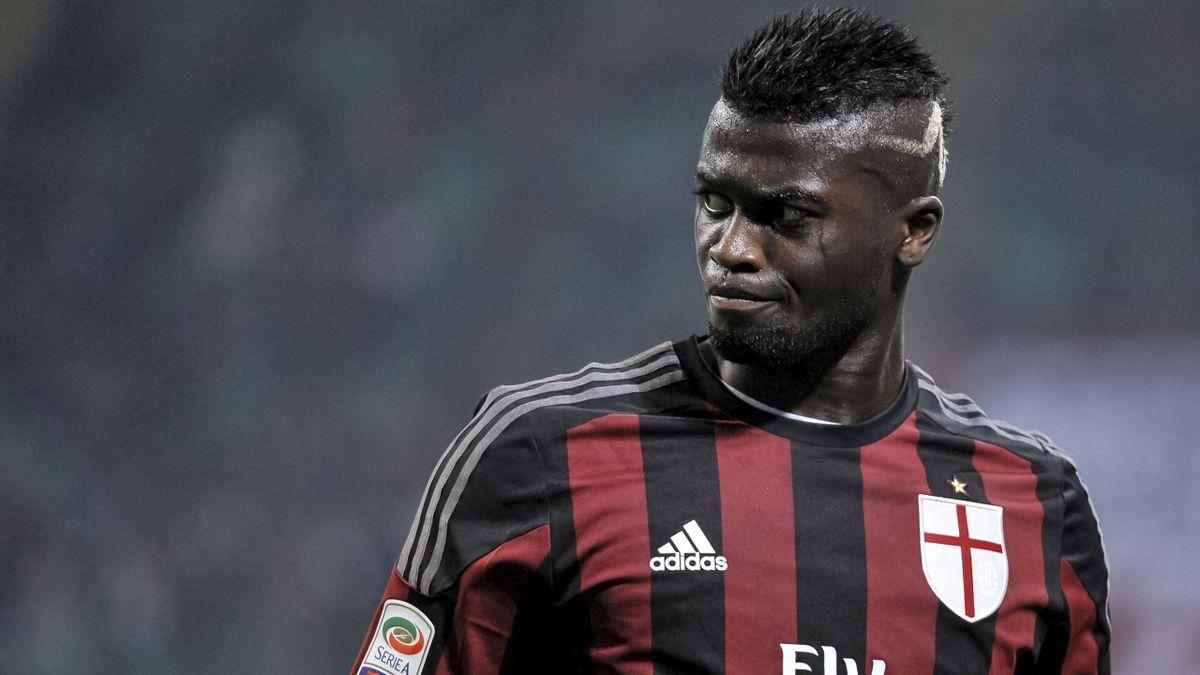 M'Baye Niang sous le maillot du Milan AC