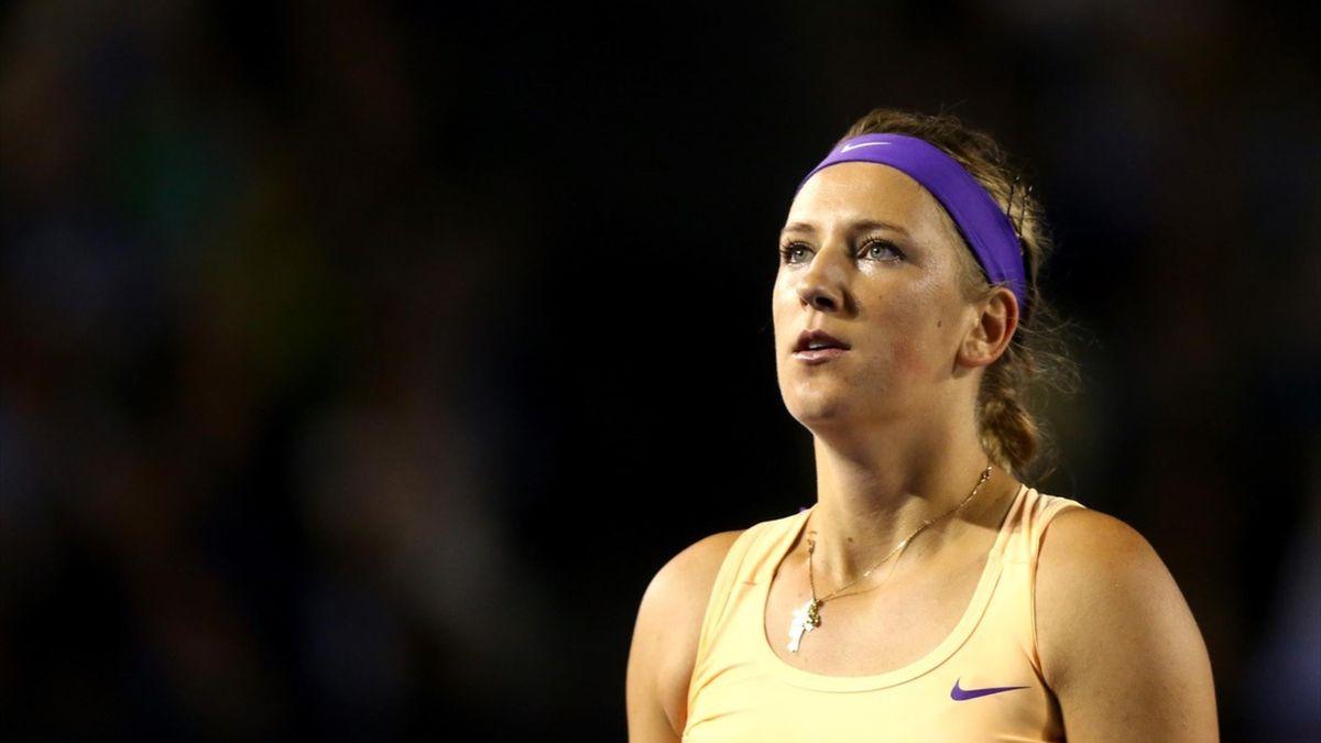 Azarenka tijdens haar hoogtijdagen op de Australian Open 2013