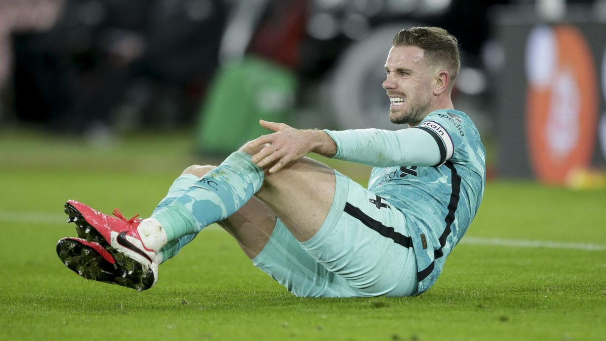Jordan Henderson has been filling in at central defence