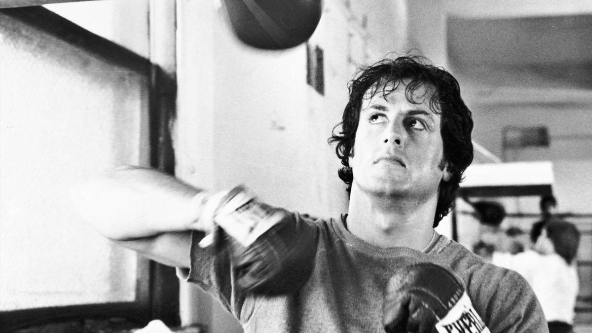 Boxer Rocky Balboa jucat de Silvestre Stallone