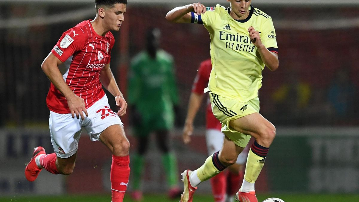 Charlie Patino a impresionat la echipa U23 a lui Arsenal