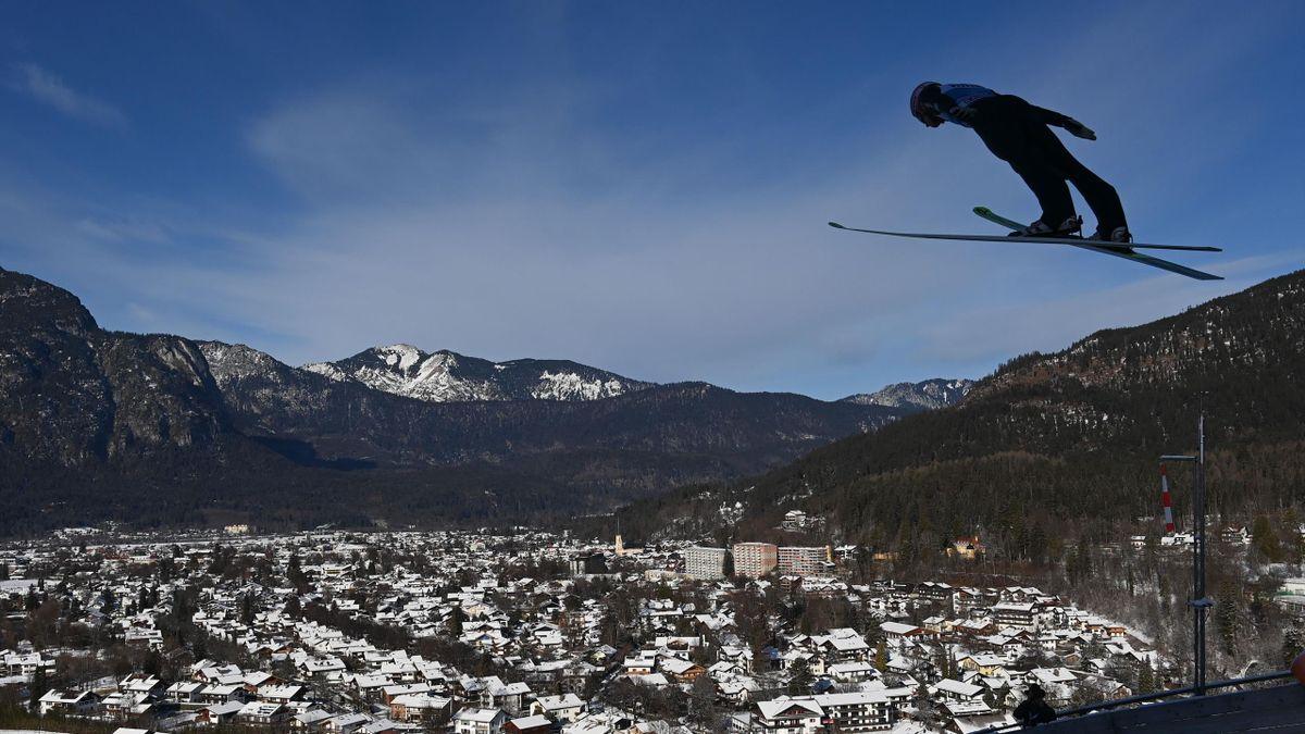 Vierschanzentournee in Garmisch-Partenkirchen