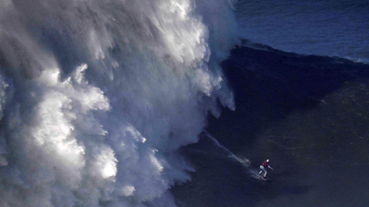Maya Gabeira surft ins Guinness-Buch der Rekorde
