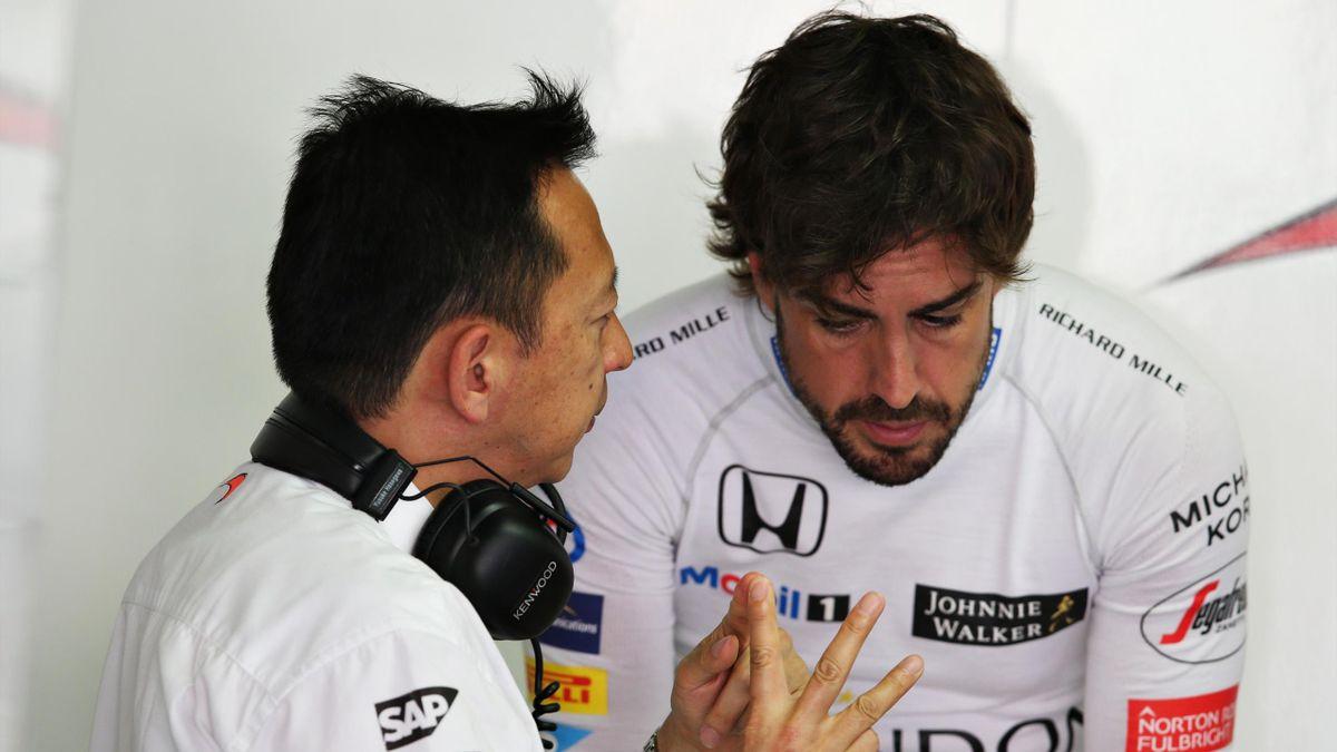 Yusuke Hasegawa (Honda), Fernando Alonso (McLaren) - Grand Prix of Germany 2016