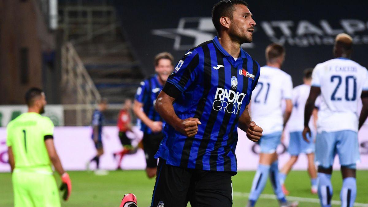 En marquant à la 80e minute, Jose Luis Palomino a libéré l'Atalanta face à la Lazio.