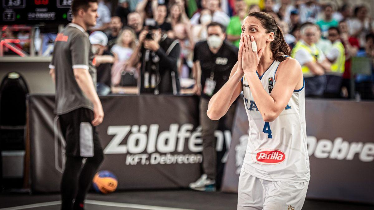 La Nazionale di basket femminile 3x3 si qualifica per i Giochi Olimpici   Credit: Italbasket