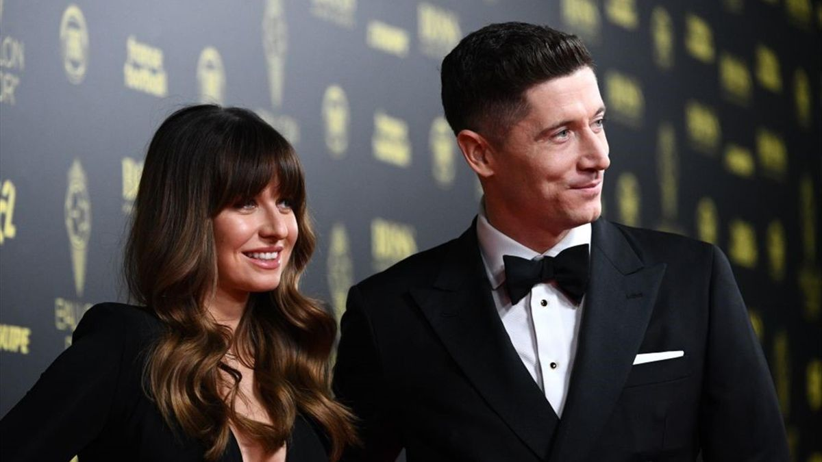 Anna Lewandowska mit Ehemann Robert Lewandowski