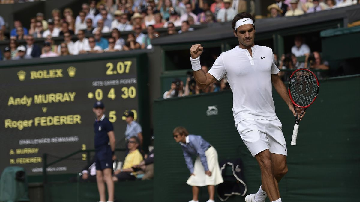 Roger Federer - Wimbledon 2015
